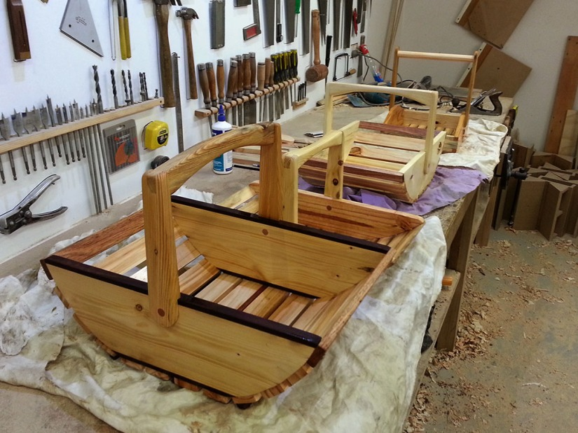 Making A Trug 07